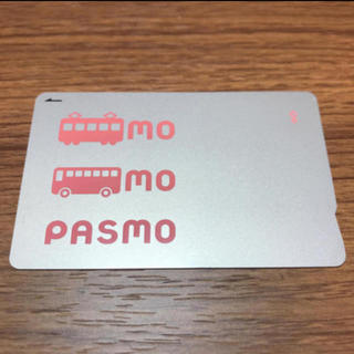 ジェイアール(JR)のPASMO 無記名 ICカード(鉄道)
