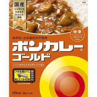 大塚食品 ボンカレーゴールド 【中辛】 180g×5個(その他)