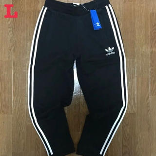 アディダス(adidas)のアディダス オリジナルス スウェットパンツ ジョガーパンツ 黒 L 新品未使用(その他)