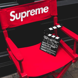 Supreme - 〜25日 未開封 Supreme Director's Chair Red 椅子