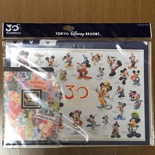 ディズニー(Disney)のディズニーリゾート30周年 クリアファイル(クリアファイル)