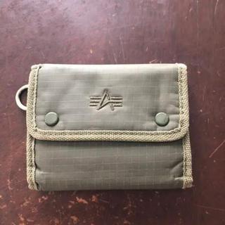 アルファインダストリーズ(ALPHA INDUSTRIES)のアルファインダストリー  折りたたみ財布(折り財布)