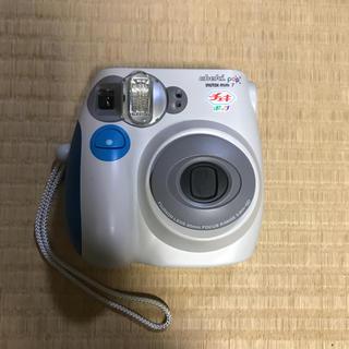 フジフイルム(富士フイルム)のチェキポップ  instax mini7 ブルー(フィルムカメラ)