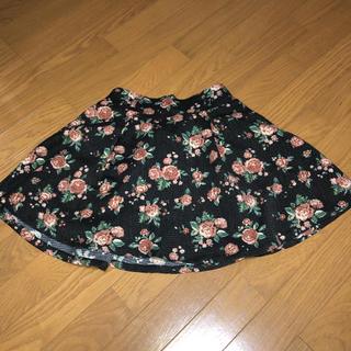 ハニーズ(HONEYS)のミニスカート スカート 総柄 花柄(ミニスカート)