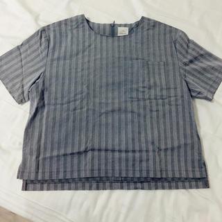 チャオパニック(Ciaopanic)の刺繍トップス(Tシャツ(半袖/袖なし))