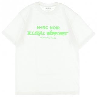 オフホワイト(OFF-WHITE)のNUBIAN限定 M+RC NOIR マルシェノア Tシャツ(Tシャツ/カットソー(半袖/袖なし))