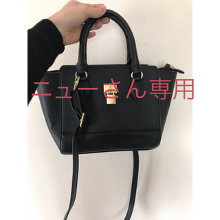 ジーユー(GU)のバッグ GU 黒(ショルダーバッグ)