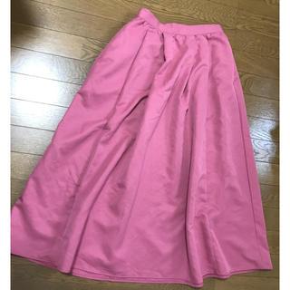 セブンデイズサンデイ(SEVENDAYS=SUNDAY)のロングスカート ピンク セブンディズサンデイ(ロングスカート)