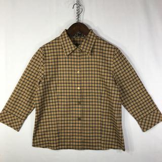 ダックス(DAKS)のダックス チェックシャツ シャツ daks ブラウス(シャツ/ブラウス(長袖/七分))