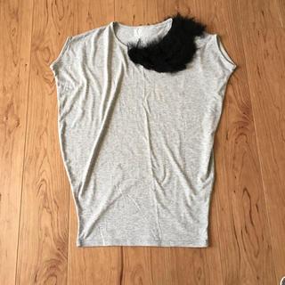アンティカ(antiqua)のantiqua 個性派Tシャツ(Tシャツ(半袖/袖なし))