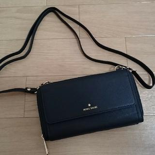 【4月限定セール】財布 ショルダーバッグ ブラック しまむら