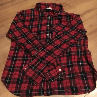 ウィゴー(WEGO)の赤チェックのシャツ(シャツ/ブラウス(長袖/七分))