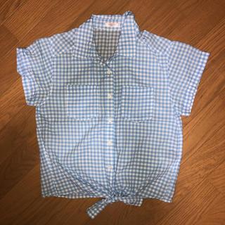 ハニーズ(HONEYS)のギンガムチェック シャツ(シャツ/ブラウス(半袖/袖なし))