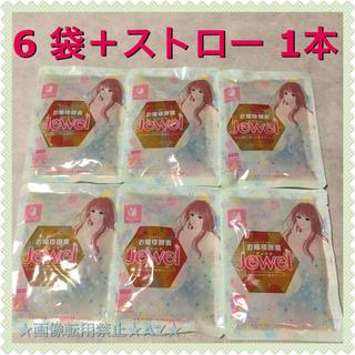 人気 ■ お嬢様酵素Jewel x 6袋 ストロー 1本付 ■(ダイエット食品)
