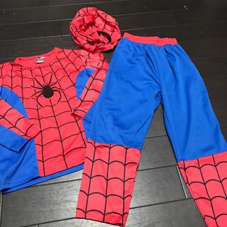スパイダーマン コスプレ 110(衣装)