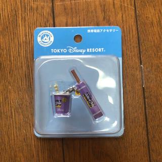 ディズニー(Disney)の携帯電話アクセサリー(ストラップ/イヤホンジャック)