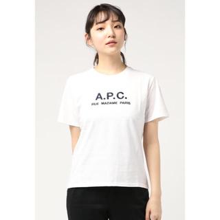 アーペーセー(A.P.C)の新品 APC A.P.C. ロゴ刺繍 半袖 Tシャツ レディース(Tシャツ(半袖/袖なし))