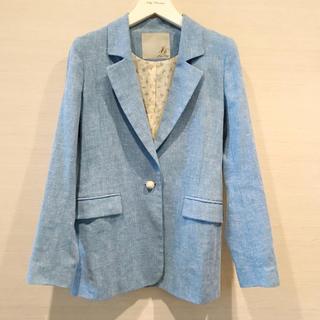 ジョリーブティック(Jolly Boutique)のJolly Boutique ブルー ジャケット 美品(テーラードジャケット)