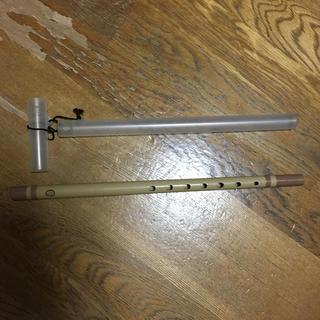 プラスチック製 篠笛 ケース付き(横笛)