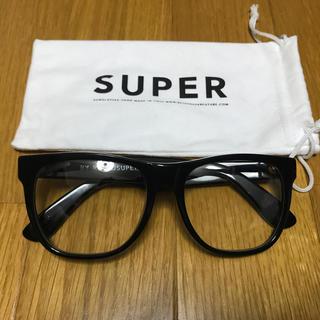 スーパーサングラス(Super Sunglasses)のSUPER SUNGLASSES スーパーサングラス  伊達メガネ クリアレンズ(サングラス/メガネ)