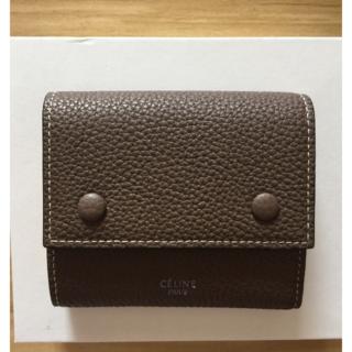 セリーヌ(celine)のCELINE 三つ折り財布(財布)