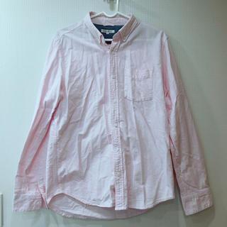 ウィゴー(WEGO)の新品同様 WEGO シャツ ピンク デニム BROWNY ブランド 冬 春 韓国(シャツ)