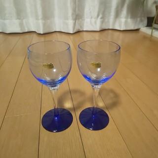ノリタケ(Noritake)のノリタケ クリスタル ワイングラス ペア(シャンパン/スパークリングワイン)