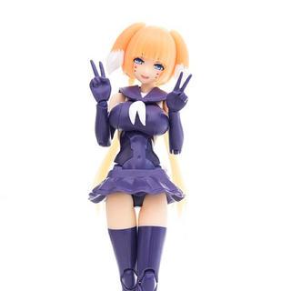 メガミデバイス 改造パーツセット011 朱羅 影衣用 髪パーツのみ オレンジ(プラモデル)