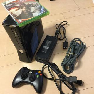 エックスボックス360(Xbox360)のXBOX360 slim 250gb セット 動作良好(家庭用ゲーム本体)