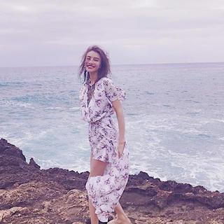アリシアスタン(ALEXIA STAM)のto the sea  ワンピース Hawaii レイヤードワンピース(ロングワンピース/マキシワンピース)