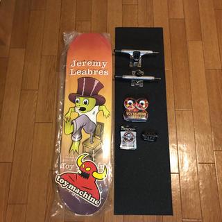 """トイマシーン(Toy Machine)の【新品/激安!】TOY MACHINE スケートボード コンプリート 8.0""""(スケートボード)"""