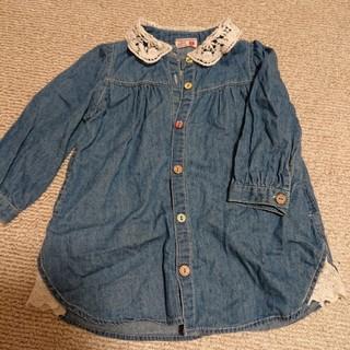 デニムシャツ 90(ジャケット/上着)