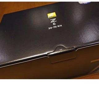 ニコン(Nikon)の新品 Nikon Z6 24-70レンズキット(ミラーレス一眼)