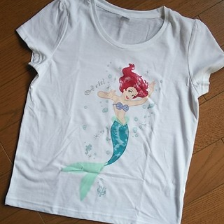 ディズニー(Disney)のDisney アリエル Tシャツ (Tシャツ(半袖/袖なし))