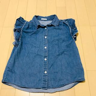 ジーユー(GU)のGU半袖シャツ(Tシャツ/カットソー)