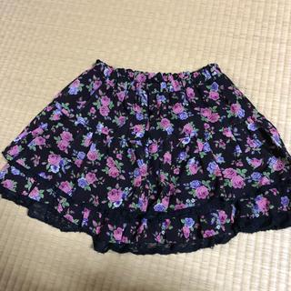 ハニーズ(HONEYS)のミニスカート 花柄(ミニスカート)