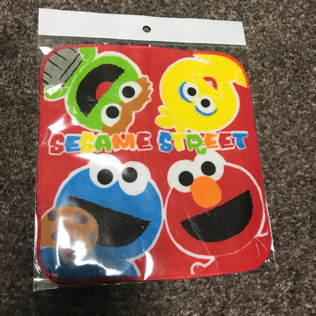 SESAME STREET(セサミストリート)のSESAME STREETハンドタオル エンタメ/ホビーのおもちゃ/ぬいぐるみ(キャラクターグッズ)の商品写真