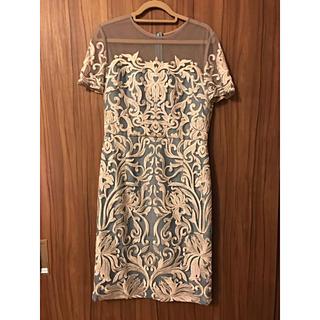 グレースコンチネンタル(GRACE CONTINENTAL)のDiagram ワンピース ドレス(ミディアムドレス)