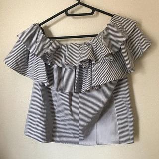 セシルマクビー(CECIL McBEE)のCECIL Mc BEE ストライプ tops Msize(Tシャツ(半袖/袖なし))
