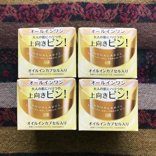 アクアレーベル(AQUALABEL)のアクアレーベル  オールインワン 90g×4箱(オールインワン化粧品)