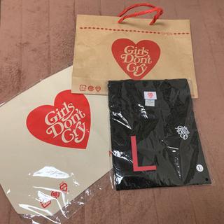 ジーディーシー(GDC)のGirl's Don't Cry × Amazon Tee トートバッグセット(Tシャツ/カットソー(半袖/袖なし))