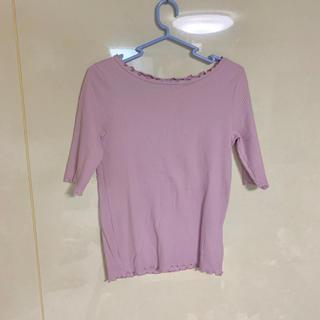ダブルクローゼット(w closet)のwcloset Tシャツ カットソー (カットソー(半袖/袖なし))