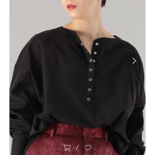 トゥデイフル(TODAYFUL)のヘンリーネックbigシャツ(シャツ/ブラウス(長袖/七分))