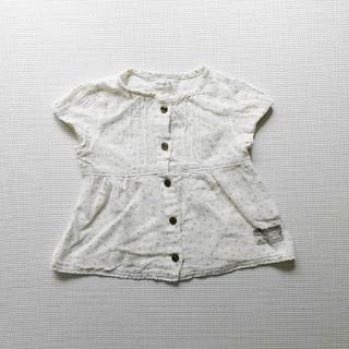 キムラタン(キムラタン)の【キムラタンporochon】90cm ブラウス(Tシャツ/カットソー)