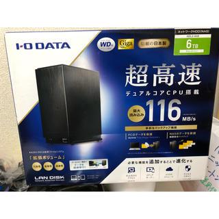 アイオーデータ(IODATA)の【新品未開封、未使用】IODATA LAN DISK HDL2-AA6 NAS(PC周辺機器)