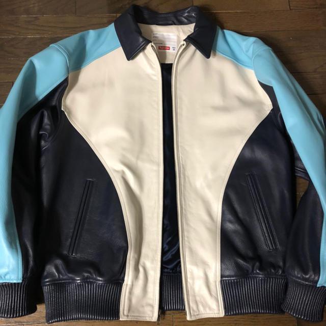 Supreme(シュプリーム)のSupreme スタッズアーチロゴレザージャケット   メンズのジャケット/アウター(レザージャケット)の商品写真