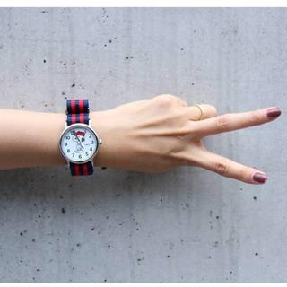 タイメックス(TIMEX)のドゥーズィエムクラス *TIMEX × PEANUTS SNOOPY 時計(腕時計)
