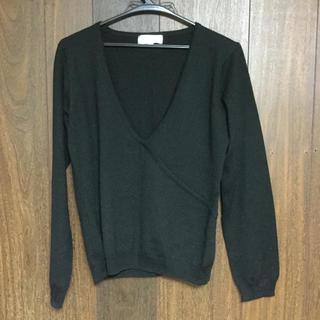 ジュンコシマダ(JUNKO SHIMADA)のVネックセーター 新品(ニット/セーター)