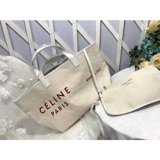 セリーヌ(celine)の【CELINE】 キャンバス トートバッグ(トートバッグ)