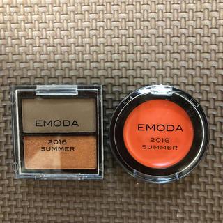 エモダ(EMODA)のアイシャドウ  チーク(コフレ/メイクアップセット)